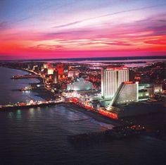 The beautiful beach town of #AtlanticCity. #travel #NewJersey