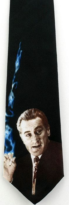 New Robert De Niro Mens Necktie Godfather Goodfellas Mob Movie Actor Neck Tie  #InfinityApparelParamountPictures #NeckTie