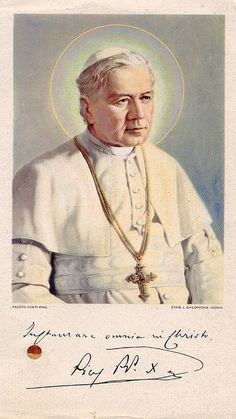 Pope Pius X by profkaren, via Flickr