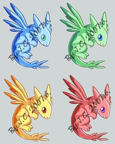 Fancy dragon pet by J-C.deviantart.com on @DeviantArt