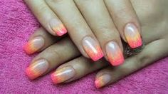 yellow gel nails - Google Search