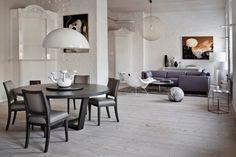 Обеденный стол со стульями, Maxalto