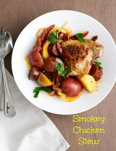 Full Shabbat Menu – Smokey Chicken Stew.