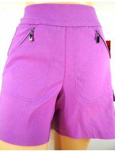 """Jamie Sadock Gypsy Basic NEW Skinnylicious Pull On Stretch 15"""" Shorts-Gypsy"""