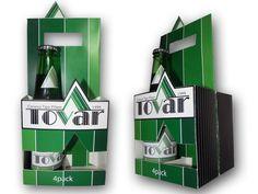 Empaque Propuesta de Diseño y Empaque de Cerveza Tovar.