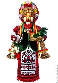 Текстильная кукла мотанка Хозяюшка дома оберег