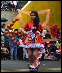 Carnaval de Ambato : Flores y Frutas (Ecuador)