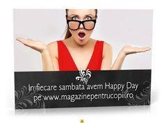 In fiecare sambata vom avea Hapyy Day, Ziua Ofertelor/reducerilor - YouTube