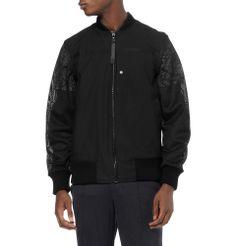 Christopher Raeburn - Cotton-Blend and Mesh Bomber Jacket