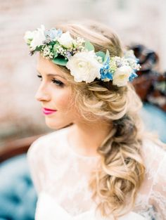 gorgeous wedding hairstyle
