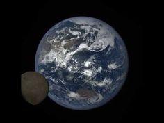 Moon photobombs Earth   EarthSky 7/5/16, a camera aboard the Deep Space Climate Observatory (DSCOVR)