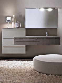 Mobili con lavabo: Composizione Lignum [b] da Karol