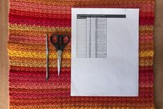 """Family Craft Studio """"Star Wars Temperature Blankets Project - Movie 1 - Part 2"""" --This is part 2 of the temperature blankets for Star Wars. This post covers February of the 1977 film A New Hope. The temperatures are included and a few photos of how the month stitched up. Links to the first post with the temperature chart and color list are included."""