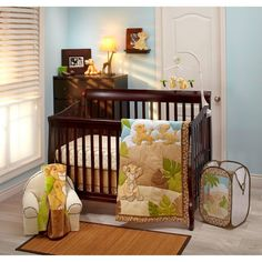Lion King Baby Nursery Decor And Crib Sets