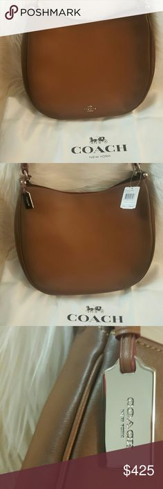 NWT* Coach Nomad Hobo* NWT* Coach Nomad Hobo * Gorgeous color* Strap included* Beautiful Leather * Stunning* Silver Toned Hardware* Dustbag Included* Feel free to Inquire and ask Questions * Reasonable offers accepted * Coach Bags