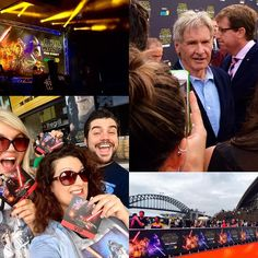 What an epic day! Team Lunacraft was invited to an exclusive THE FORCE AWAKENS footage screening at @imaxsydney AND the fan event where Han Solo himself Harrison Ford chatted about all things STAR WARS. We couldn't be more excited for this film to come out - only 6 sleeps until the midnight screenings! #StarWars #TheForceAwakens #6SleepsIsTooMany #HarrisonFord #HanSolo #FanEvent #EpicDay #Sydney #imax #SydneyOperaHouse #SydneyHarbourBridge #RedCarpet #Stormtroopers #Lucasfilm #Disney by…