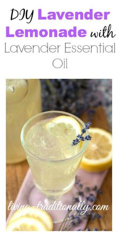Remember to 1/2 the receipe. SD DIY Lavender Lemonade with Lavender Essential Oil
