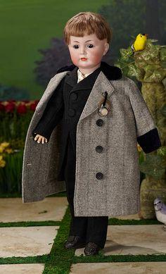 """I Only Wanted to Wonder"" - August 178 Handsome German Bisque ""Mein Liebling"", Model by Kammer and Reinhardt Child Doll, Boy Doll, Antique Dolls, Vintage Dolls, Wonder August, Madame Alexander Dolls, Fabric Dolls, Rag Dolls, Waldorf Dolls"