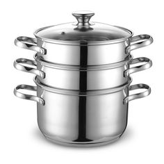 Cook N Home Stainless Steel Double Boiler/ Steamer Set 4-quart - Overstock™ Shopping - Great Deals on Cook N Home Pots/Pans