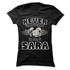 Click here: https://www.sunfrog.com/LifeStyle/Never-Underestimate-The-Power-Of-SARA--999-Cool-Name-Shirt-.html?s=yue73ss8?7833 Never Underestimate The Power Of ... SARA - 999 Cool Name Shirt !