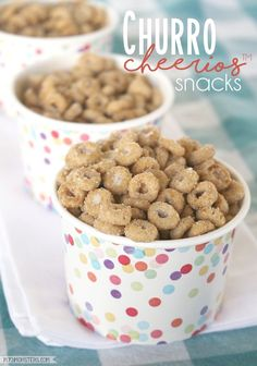 Buy a Box, Give a Free Box of Cheerios™ to someone special PLUS a Delicious Churro Cheerios™ Snack Recipe easy snacks Buy a Box, Give a Free Box PLUS a Delicious Churro-Inspired Snack Recipe Easy Snacks, Yummy Snacks, Delicious Desserts, Yummy Food, Night Snacks, Cheerios Recipes, Cereal Recipes, Snack Mix Recipes, Dog Food Recipes