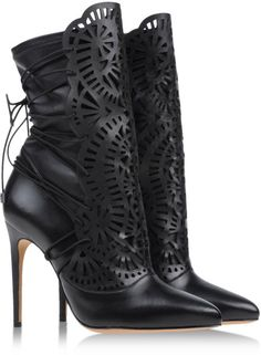Alexandre Birman Ankle Boots in Black
