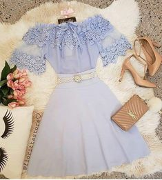 Pin by emmarae guttry on outfits in 2019 Mode Outfits, Skirt Outfits, Casual Outfits, Dress Skirt, Pretty Outfits, Pretty Dresses, Beautiful Dresses, Cute Fashion, Teen Fashion