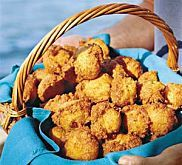 Deep-Fried Staff Favorites - Southern Living - In celebration of Deep-Fried Fridays our staff dished their picks for the best deep-fried Southern Living recipes. Hush Puppies Recipe, Muffins, Southern Recipes, Southern Food, Southern Style, Southern Comfort, Southern Charm, Southern Dishes, Southern Hospitality