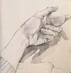 Sarah Sedwick, #sketchbook. #art #drawing 3.23.16