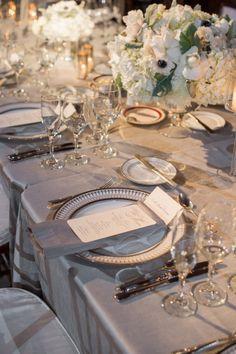 Historic and Elegant Boston Wedding from Ned Jackson Photography - wedding centerpiece idea