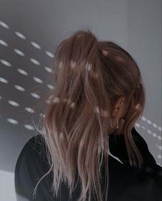 Classy Aesthetic, Aesthetic Hair, Hair Inspo, Hair Inspiration, Foto Glamour, Tumbrl Girls, Light Hair, Tips Belleza, Belle Photo