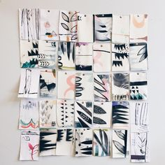 """""""Detail of the ones I didnt use"""" illustrator, eva magill-oliver."""