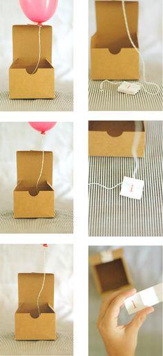 ballon present