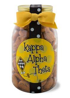Kappa Alpha Theta Quart of Cookies www.sassysorority.com