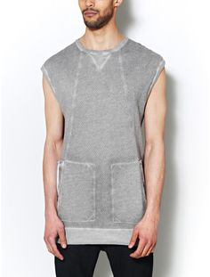 tympis sleeveless shirt | oak nyc