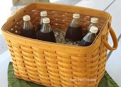 Newspaper basket.  So many uses!