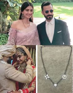 The design concept behind the Sonam Kapoor mangalsutra along with 7 unique zodiac mangalsutra designs made with real diamonds and 18K gold.