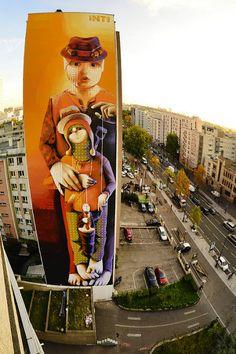 "by INTI ""our utopia is their future"" (Paris - Francia) foto por: Leon Calquin"
