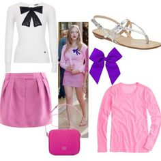 Mean girls, Outfit and Girls on Pinterest