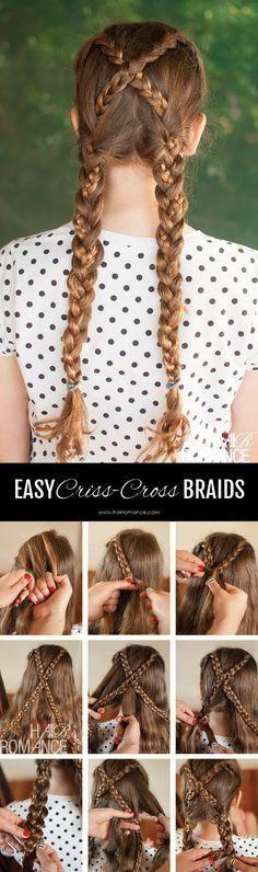 7 Different Style Braids Tutorials