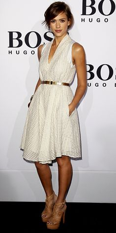 Jessica Alba - Look of the Day - InStyle