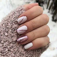 142 first-class bridal nail art designs inspired by spring page 08 in 2019 - New Ideas - Trend Spring Nails Coffin 2019 Shellac Nails, Pink Nails, My Nails, Nail Polish, Acrylic Nails, Nails 2017, Nail Manicure, Stylish Nails, Trendy Nails