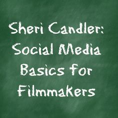 """Independent Film Marketing expert Sheri Candler has written a spectacular series on """"Social Media Basics for Filmmakers.""""  If you're at all  interested in this topic you must read it.    In addition to excellent general advice about why and how you should get involved with social media, and the myths surrounding it, she gives very clear primers on Facebook, Twitter, and YouTube. You should bookmark this series and refer to it often. (May 2013) http://www.thefilmcollaborative.org…"""