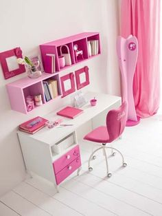 Cuartos on pinterest girl rooms quartos and ideas para for Muebles para habitacion de nina