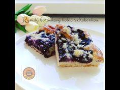 Kynutý borůvkový koláč s drobenkou | Podciperák | Metýnka | CZ/SK HD recipe - YouTube Dessert Recipes, Desserts, Acai Bowl, French Toast, Cooking, Breakfast, Food, Youtube, Backen