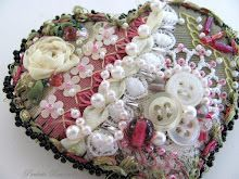 crazy quilted heart pin