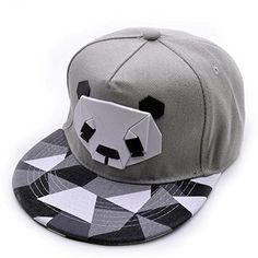 83a3fa777681 Trydoit Casquette pour Hommes Femmes Baseball Panda Cap Golf Hip Hop Chapeau  Unisex Couple Chapeau (