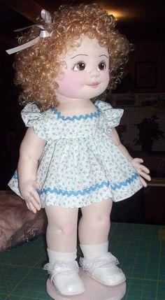 Patrón de muñeca Irene | Etsy