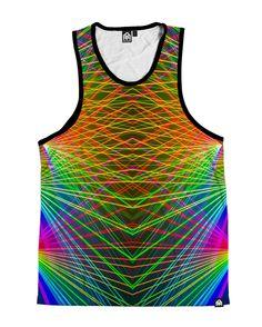 RUKES Rainbow Lasers Men's Tank