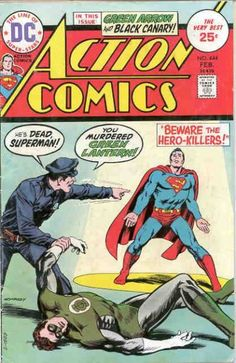 Cover for Action Comics (DC, 1938 series) #444